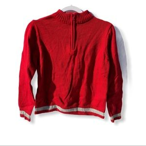 Tommy Hilfiguer Pull Over Sweater Kid's Red